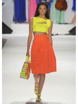 This Is An Example Of Analogous Outfit Because The Colors Yellow And Orange On Are Adjacent To Each Other Color Wheel